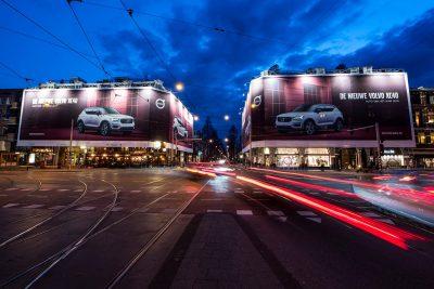 Auto van het Jaar – Volvo XC40 – verovert de binnenstad van Amsterdam