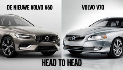 Is de nieuwe Volvo V60 vergelijkbaar met de Volvo V70?