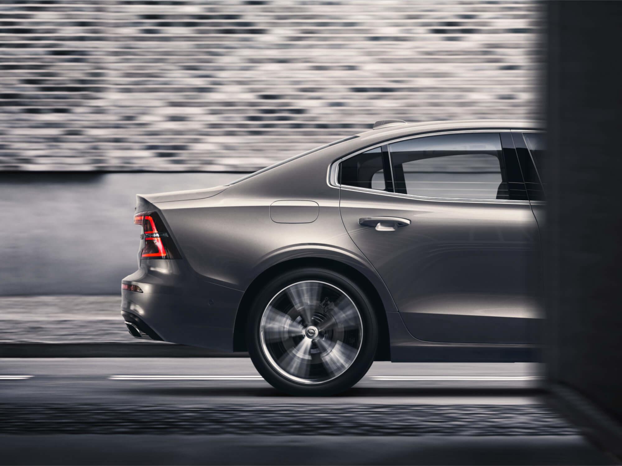 Volvo S60 Mild Hybrid achterkant