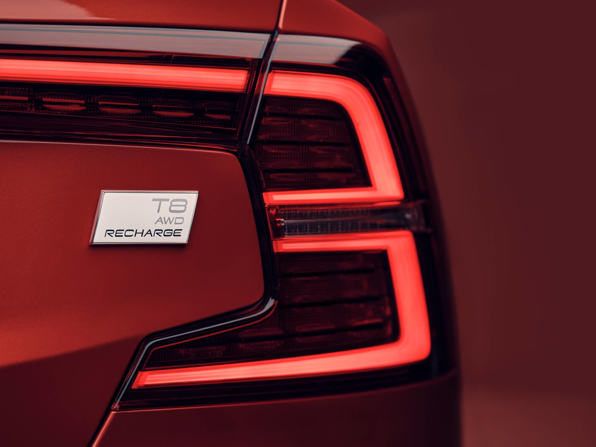 Volvo S60 Plug-in Hybride achterlicht