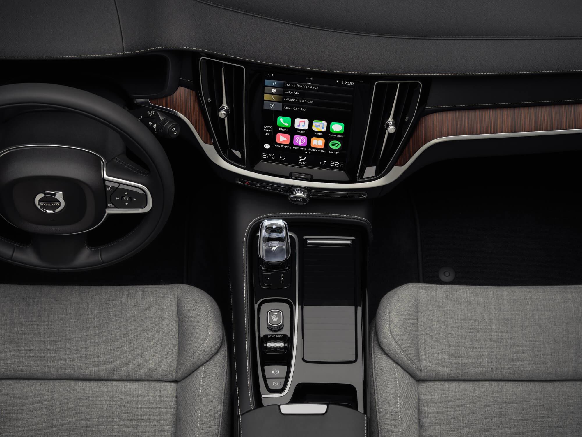 Volvo V60 Plug-in Hybride interieur
