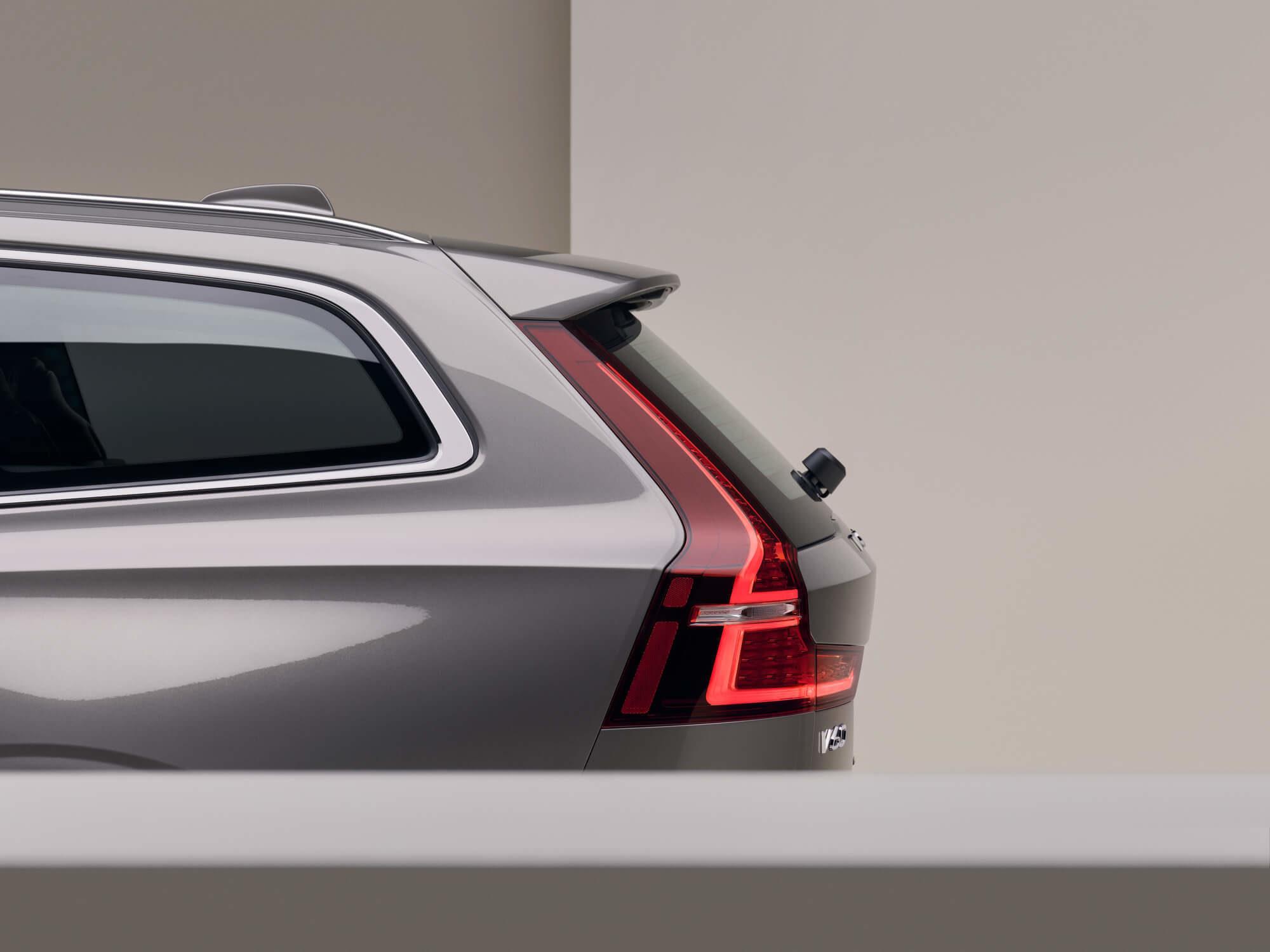 Volvo V60 achterlicht detail