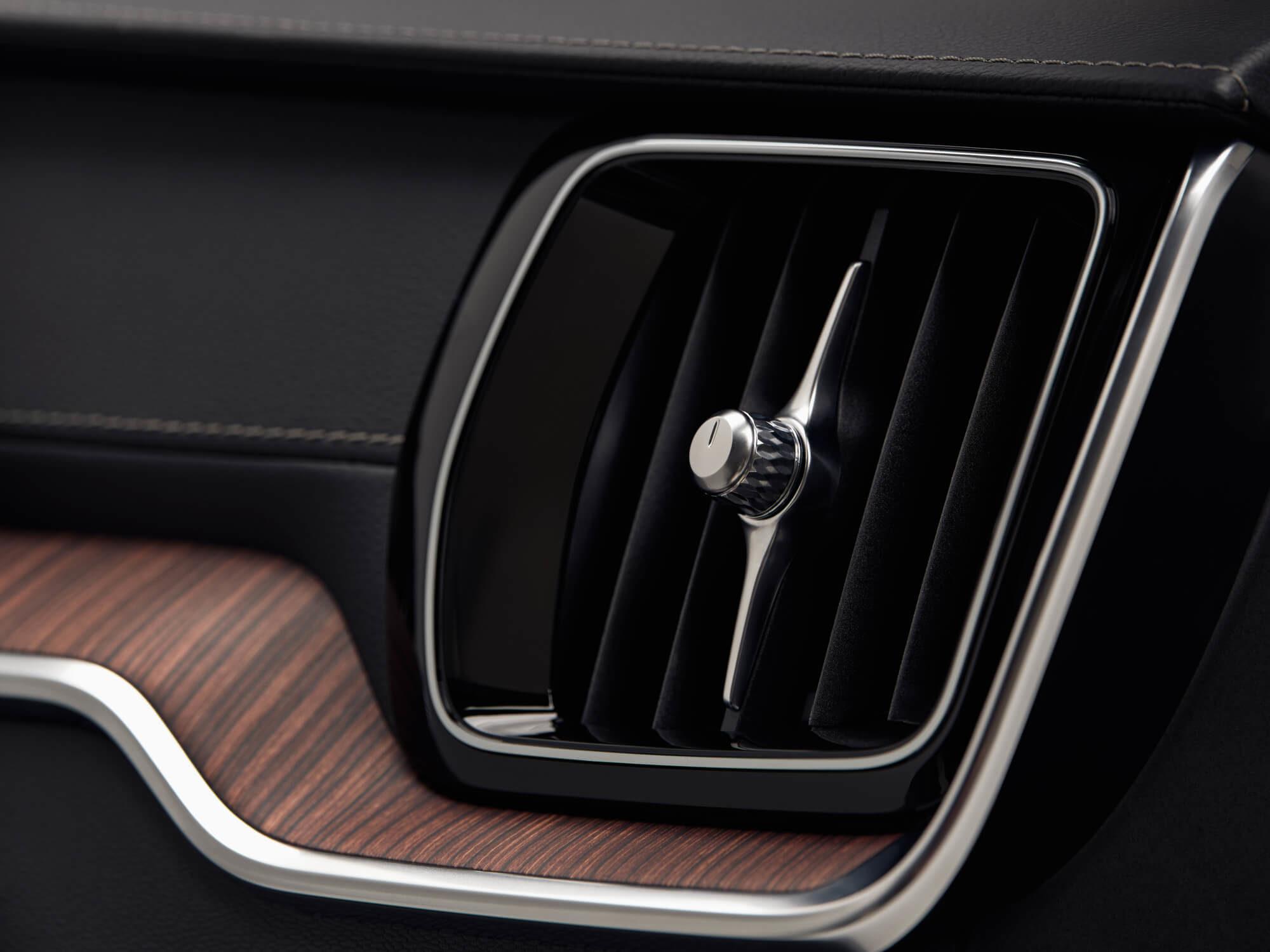 Volvo V60 ventilatie rooster detail