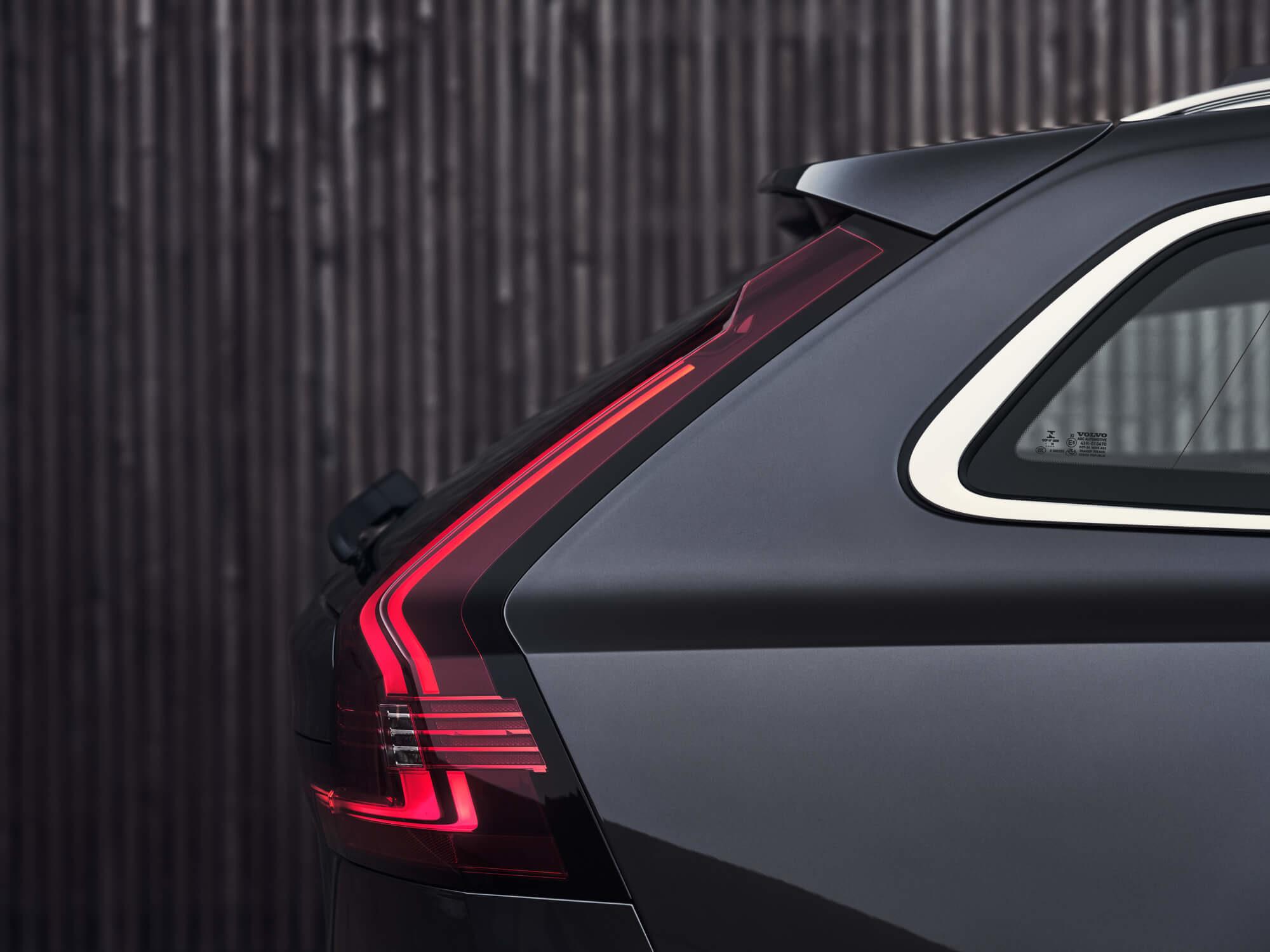 Volvo V90 achterlicht detail