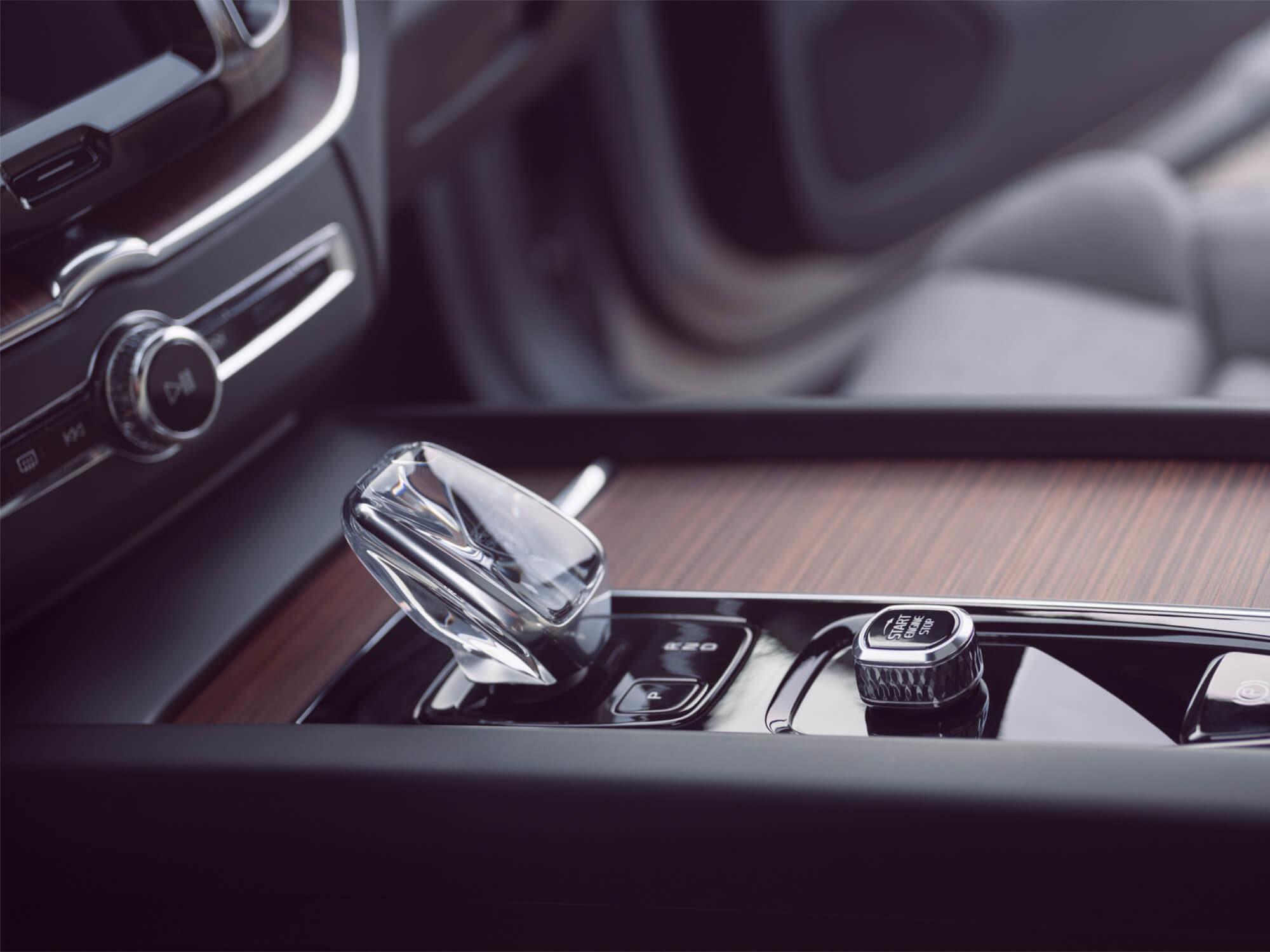 Volvo XC60 Plug-in Hybrid Orrefors pookknop