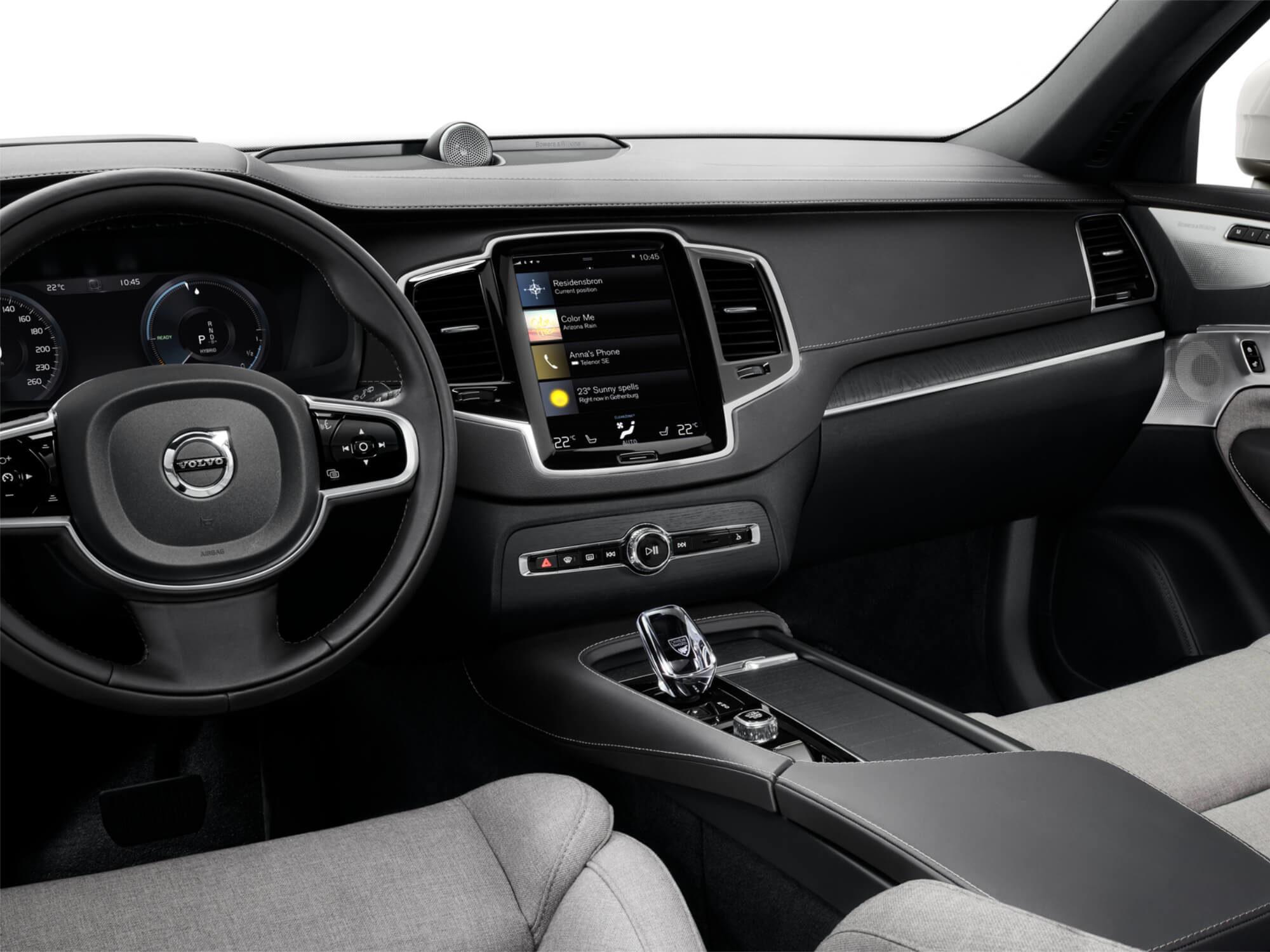 Volvo XC90 Plug-in Hybrid voorstoel