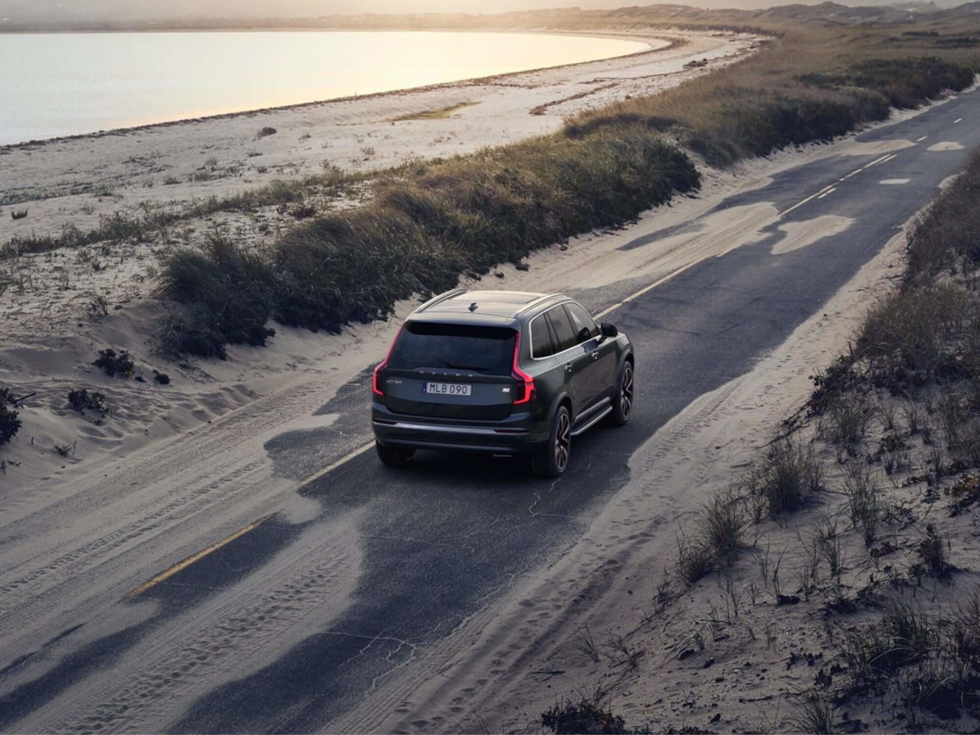 Volvo XC90 T8 Plug-in Hybrid Inscription Exclusive achterkant