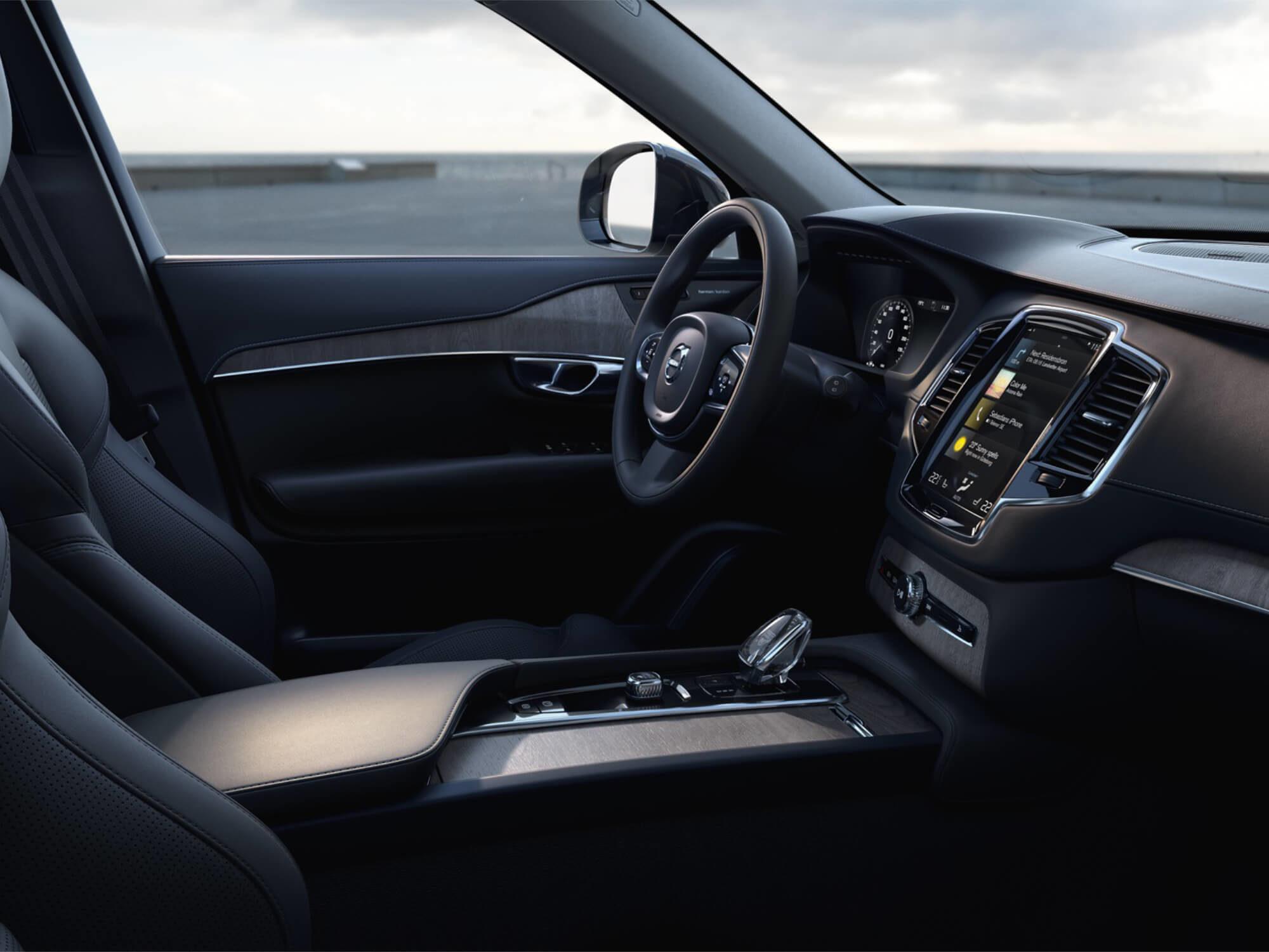 Volvo XC90 T8 Plug-in Hybrid Inscription Exclusive dashboard