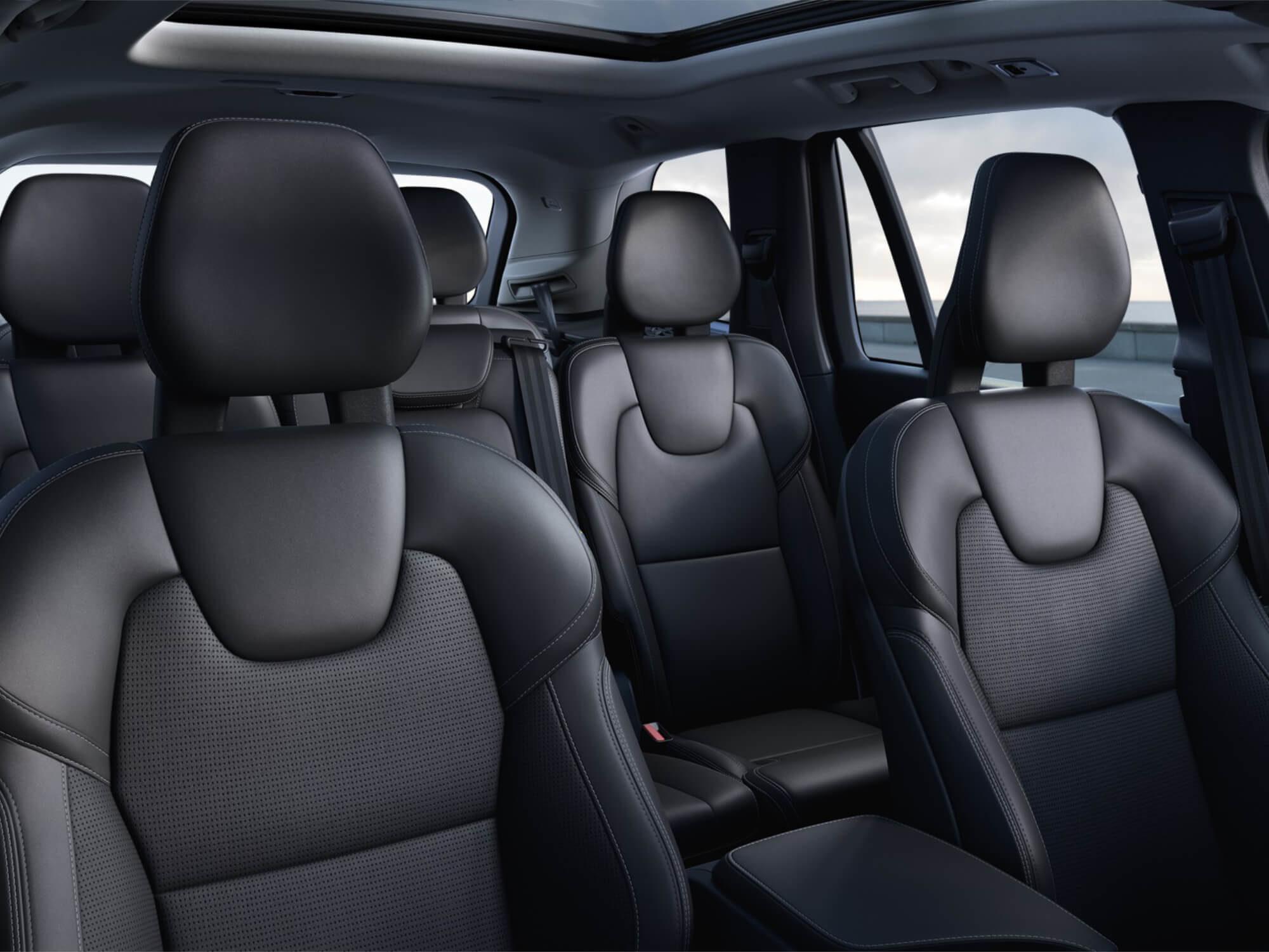 Volvo XC90 T8 Plug-in Hybrid Inscription Exclusive interieur stoelen