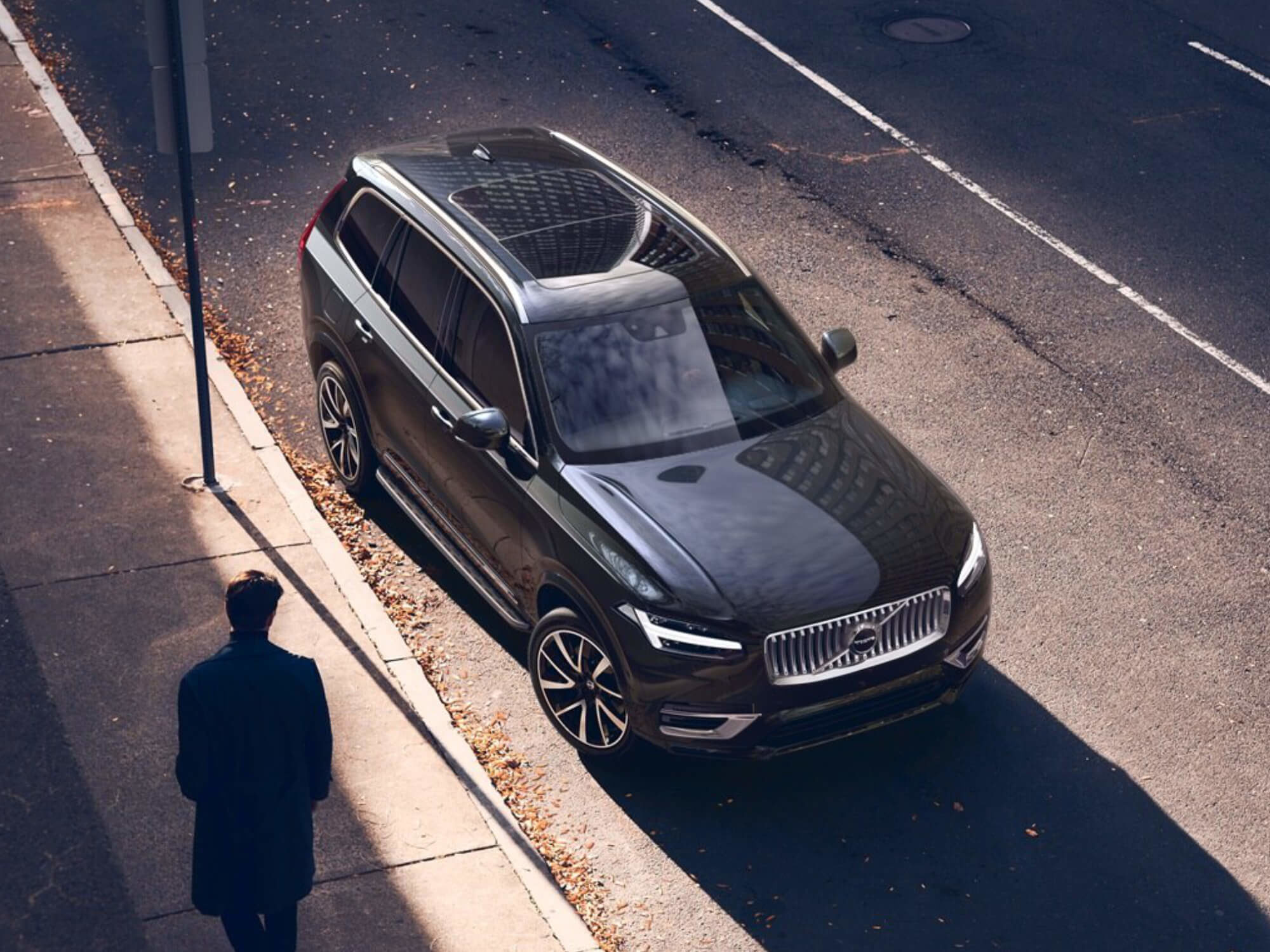 Volvo XC90 T8 Plug-in Hybrid Inscription Exclusive voorkant