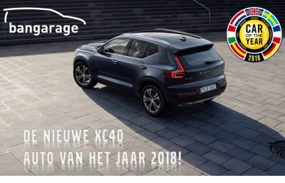 Volvo XC40 auto van het Jaar 2018