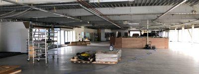 Verbouwing showroom Amsterdam Zuidoost