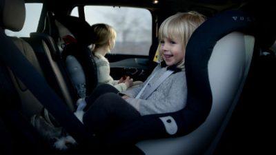 Nieuwe kinderzitjes van Volvo