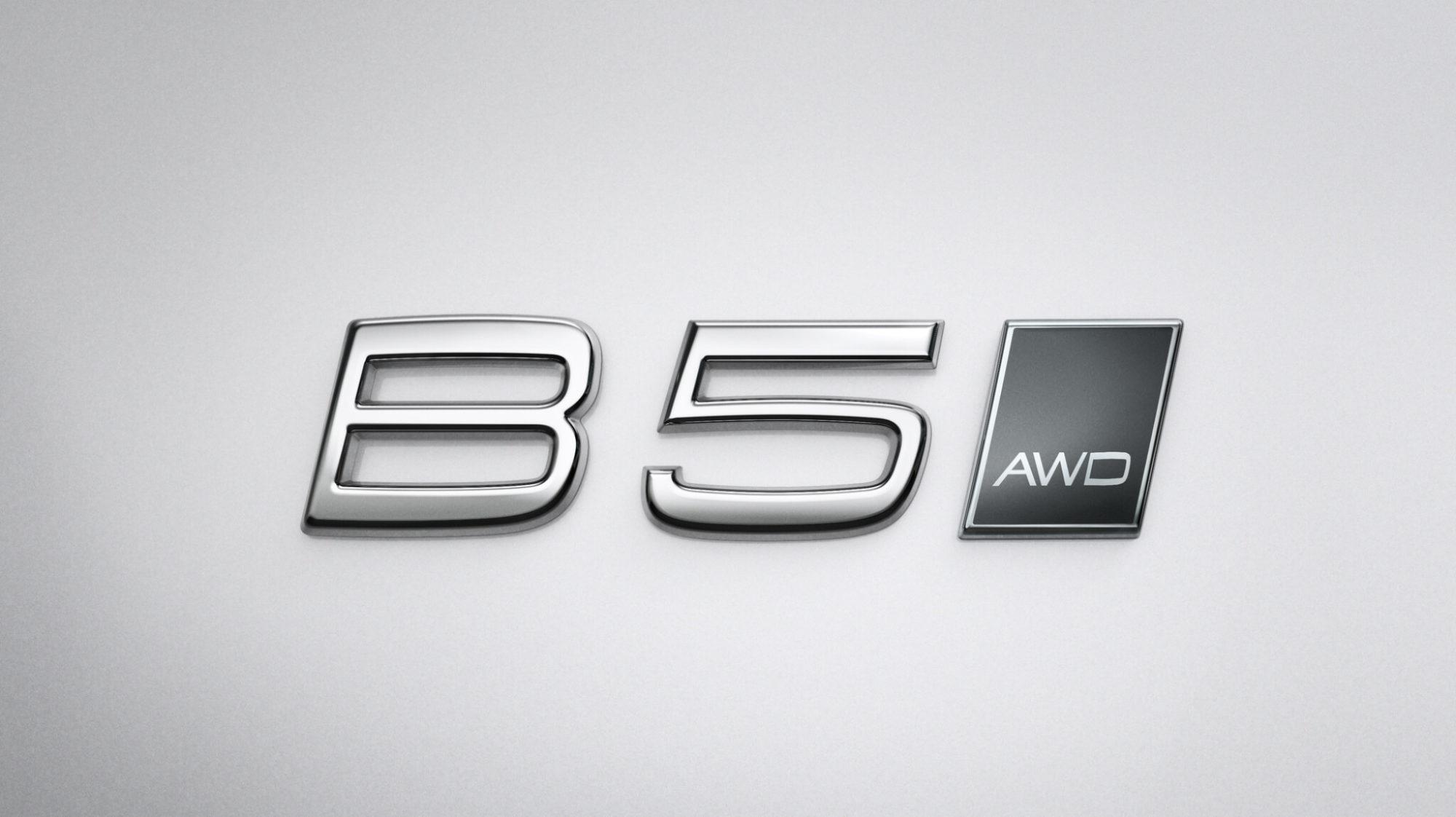 Volvo Mild Hybrid embleem