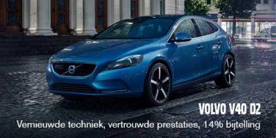 Volvo V40 D2: uitstekende prestaties en 14% bijtelling